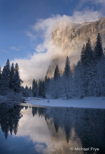 El Capitan and the Merced River, February 15th