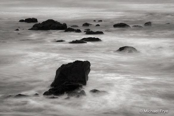 Coastal rocks near Trinidad (6 seconds at f/22)