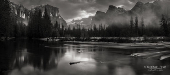 Morning light, Gates of the Valley, Yosemite NP, CA, USA