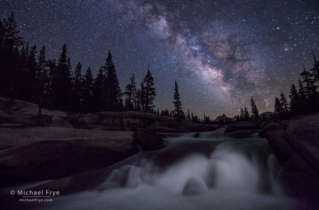 Stars Over the Tuolumne River