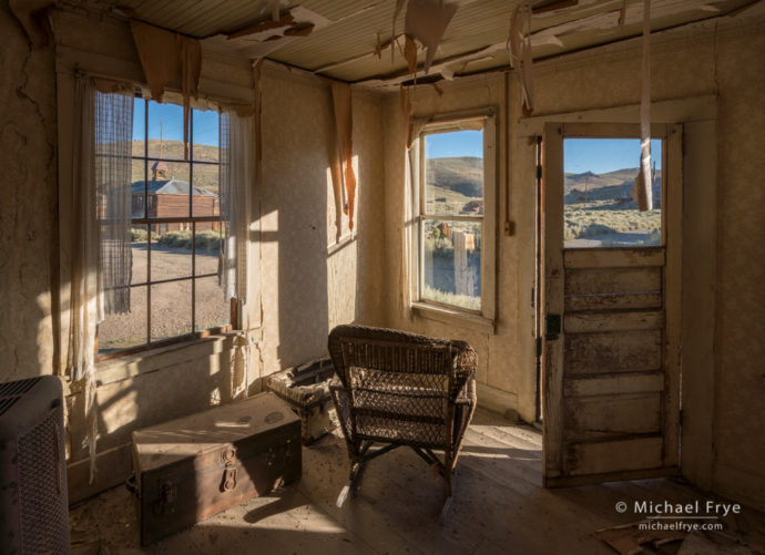 McMillan House interior, Bodie State Historic Park, CA, USA