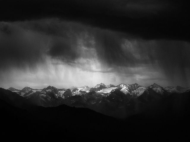 """Sierra Crest and Storm—Moro Rock"" by JJ Raia"