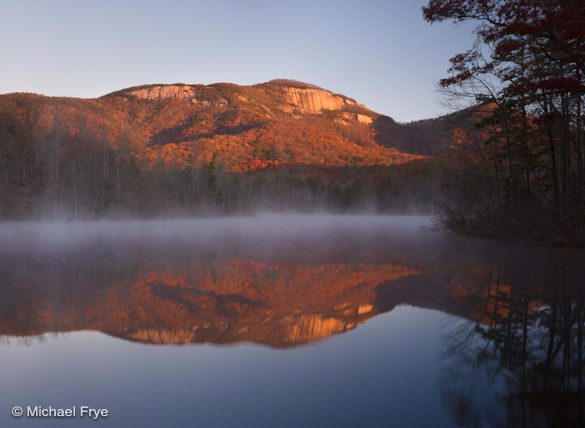 Table Rock at sunrise
