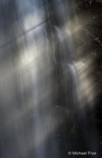Sunbeams on Twin Falls