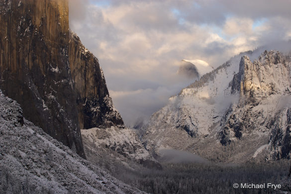 Yosemite Valley After a Snowstorm