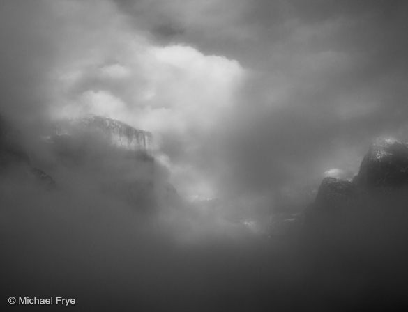 3. Clouds and mist, Tunnel View