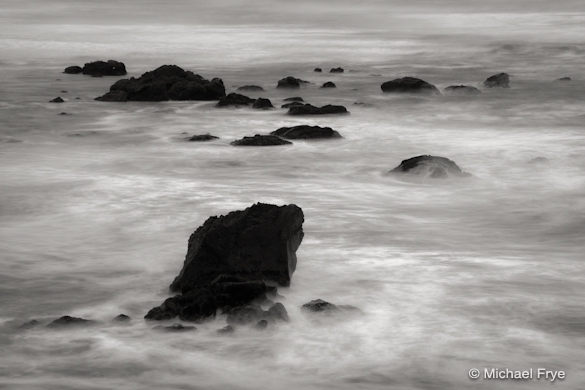 Coastal rocks near Trinidad (6 seconds at f/22)
