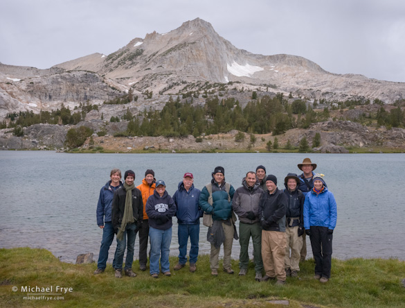 The group with North Peak