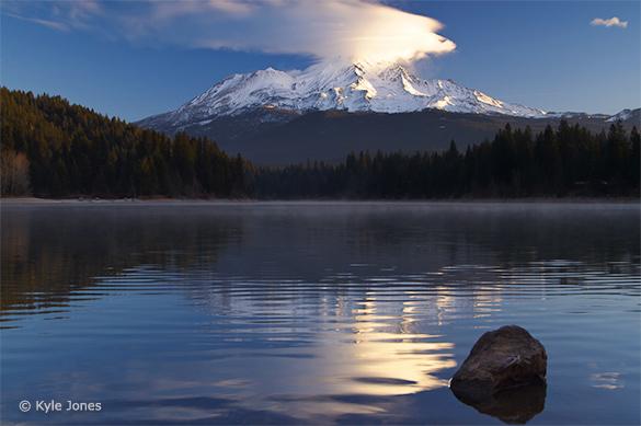 Mt. Shasta and Lake Siskiyou by Kyle Jones