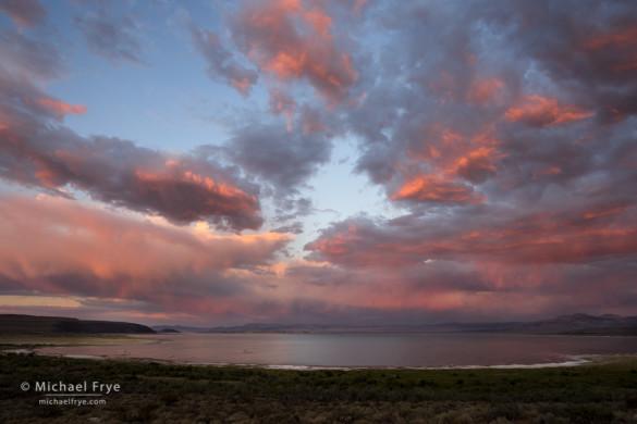 Sunset over Mono Lake, CA, USA