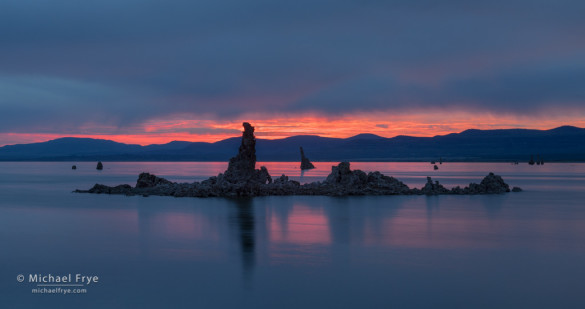 Sunrise, Mono Lake, CA, USA