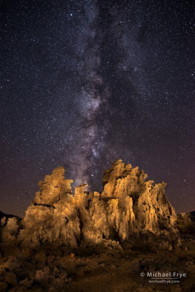 Tufa and Milky Way, Mono Lake, CA, USA