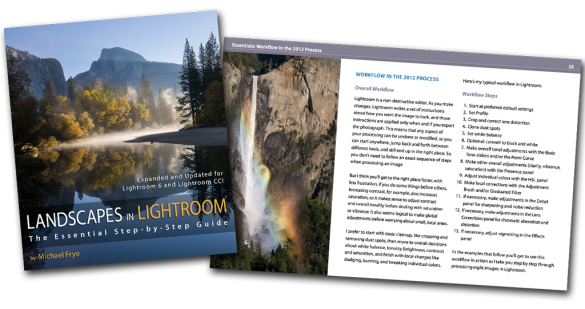 Landscapes in Lightroom Editing Styles: LR6-CoverSpread
