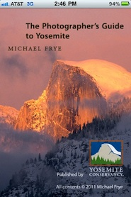 The Photographer's Guide to Yosemite iPhone App