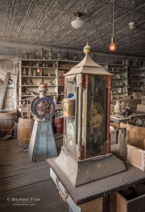 Boone General Store, Bodie State Historic Park, CA, USA