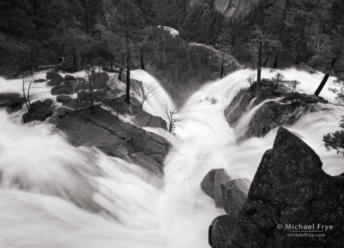 Confluence of Cascade and Tamarack creeks, Yosemite NP, CA, USA