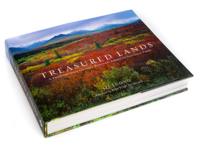 QT Loungss Treasured Lands, 59 National Parks, QT book