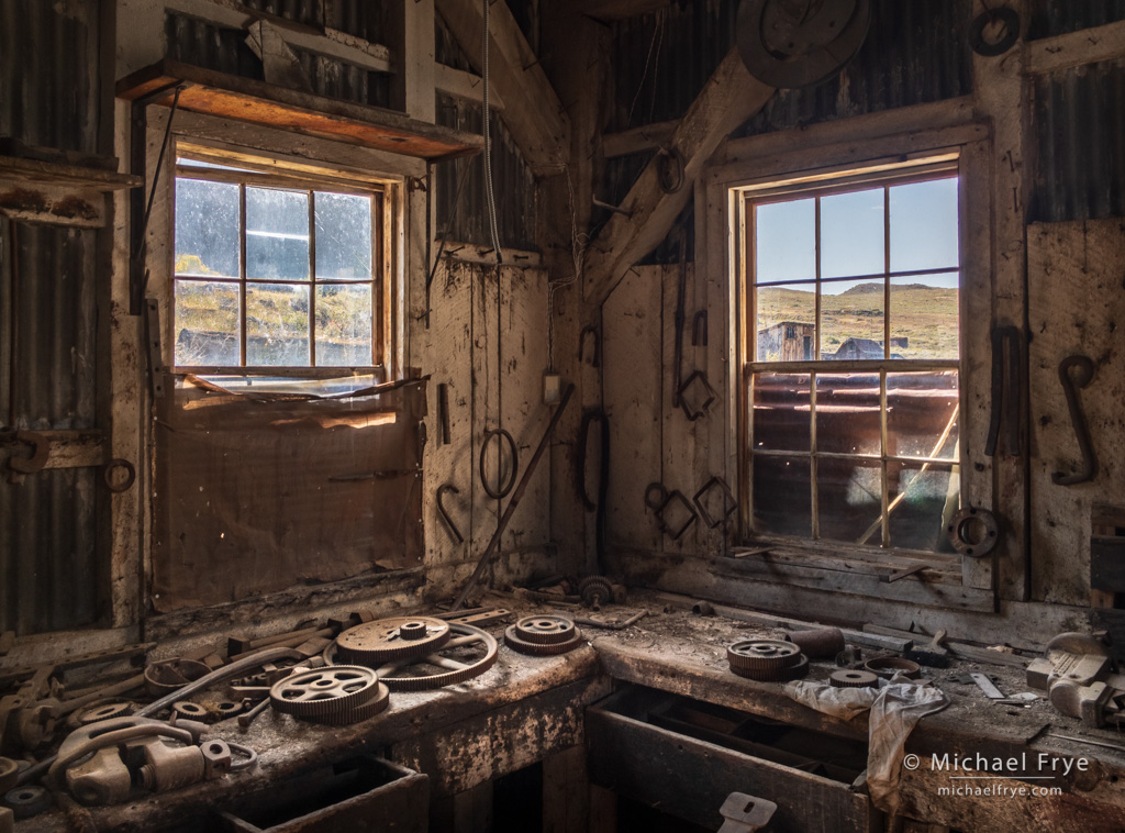 Bodie Ghost Town iPhone Photography Workshops