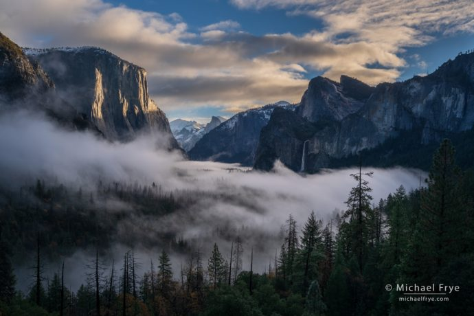 Sunrise from Tunnel View, Yosemite NP, CA, USA