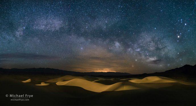 9. Milky Way over the Mesquite Flat Dunes, Death Valley
