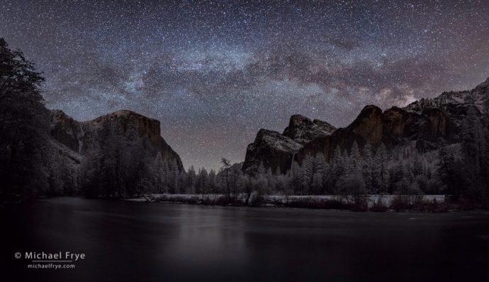 11. Milky Way over Yosemite Valley
