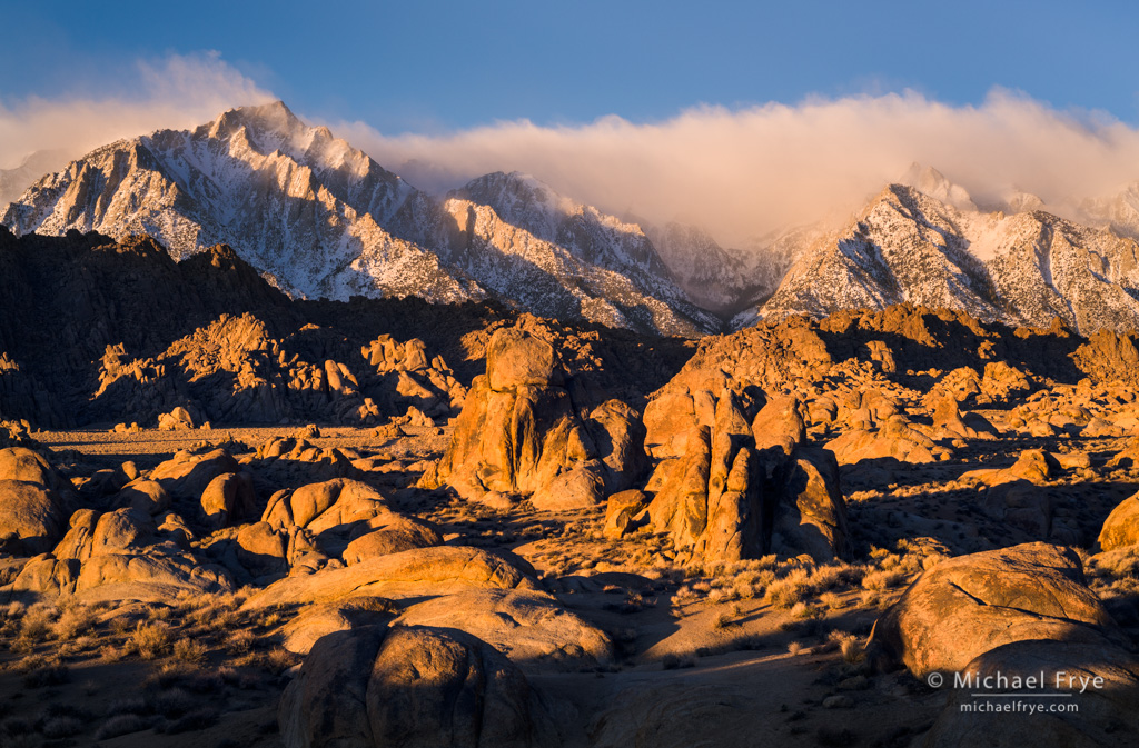 Eastern Sierra in Winter