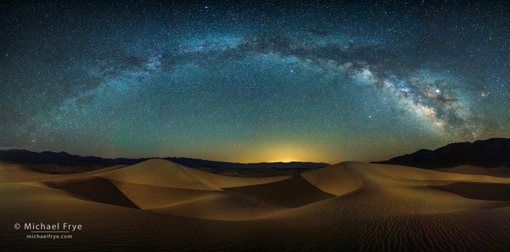 Death Valley after Dark