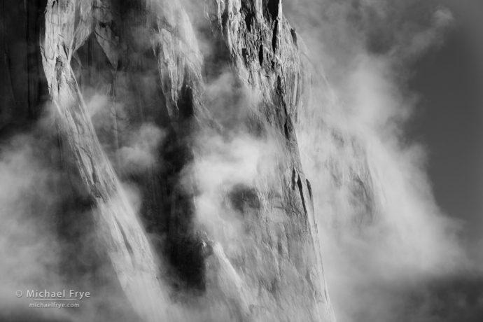 40. The heart of El Capitan, Yosemite NP, California