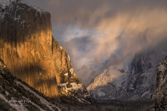 7. Stormy skies over the valley, Yosemite NP, California