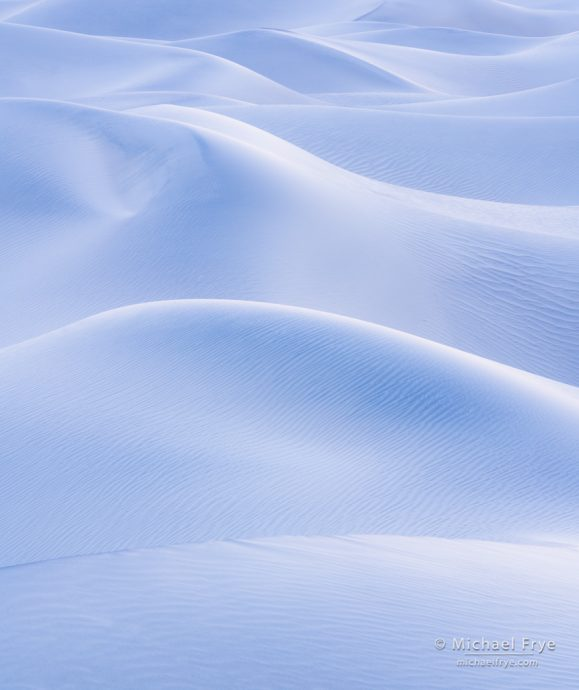 16. Rolling dunes, Death Valley NP, California