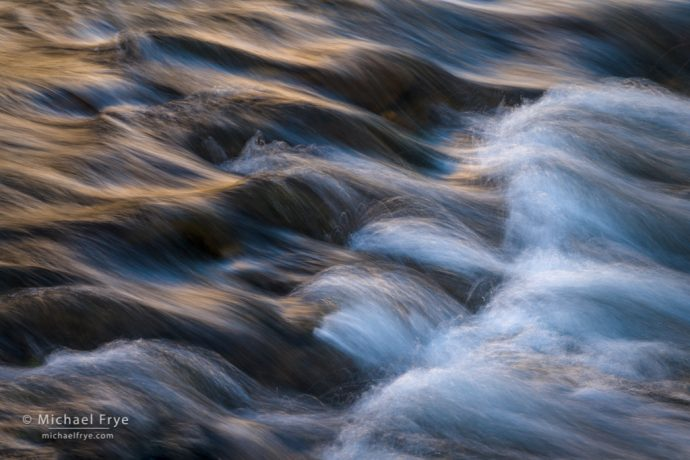 Rapids and reflections in the Merced River, Yosemite NP, CA, USA
