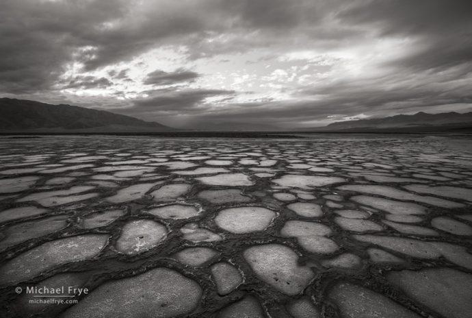 Salt flats, Death Valley NP, CA, USA