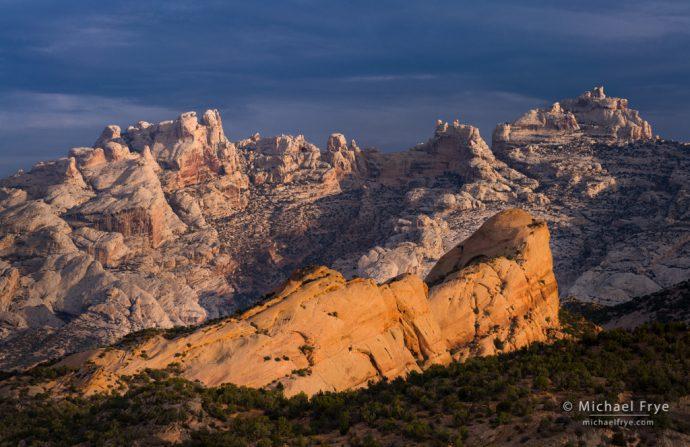 Sandstone formations, Dinosaur National Monument, Utah