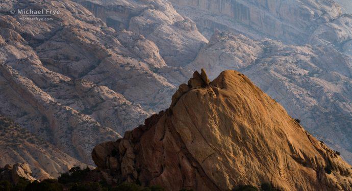 Rock patterns, Sandstone formations, Dinosaur National Monument, Utah, USA