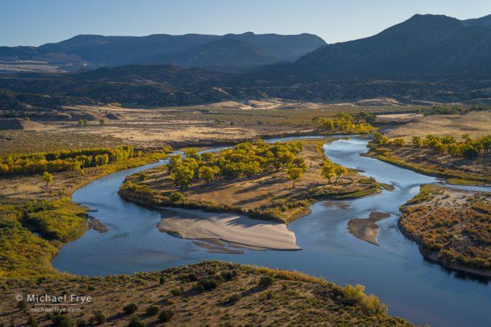 Green River, Dinosaur National Monument, Utah, USA
