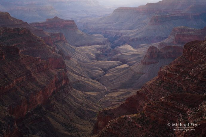 Dusk light, Grand Canyon NP, AZ, USA