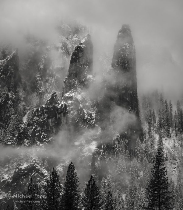 Cathedral Spires, Yosemite NP, CA, USA