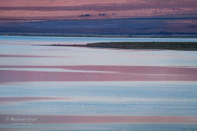 Reflections in Mono Lake, CA, USA